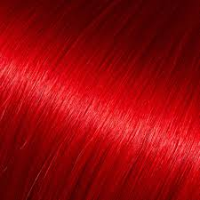 red swatch red hair extension color swatch donna bella hair