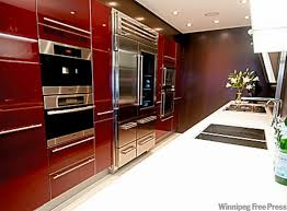 Calgary Kitchen Cabinets Contemporary Kitchen Cabinets Birch Overlay Thediapercake