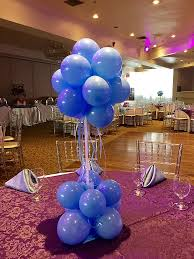 balloon centerpieces decora events toronto