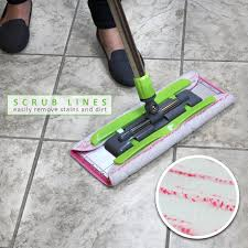 How Do I Clean A Laminate Floor Amazon Com Linkyo Microfiber Floor Mop 3 Reusable Mop Pads And