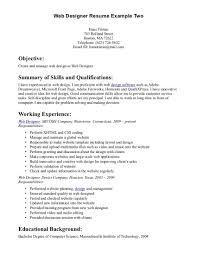 Web Developer Resume Download Resume Format For Web Designer Haadyaooverbayresort Com