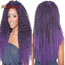 crochet braiding hair for sale purple crochet box braids creatys for