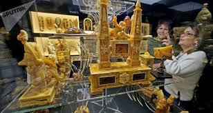 la chambre d ambre photos la fameuse chambre d ambre russe reconstituée à
