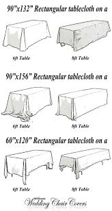 6ft Table Cloth by Tablecloth Sizing Help U2013 Wholesale Wedding Chair Covers
