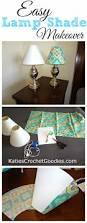 diy recovering lamp shades lamp shade makeover tutorials and
