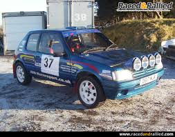 peugeot for sale uk peugeot 205 gti rally car rally cars for sale at raced u0026 rallied