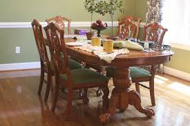 spray painted dining table and chairs hometalk