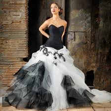 black and white wedding dress appealing black and white wedding dresses 38 for your bridal