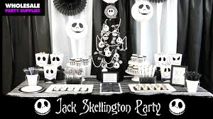 nightmare before christmas party supplies diy nightmare before christmas tree party ideas activities by