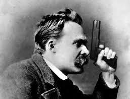 Nietzsche Meme - nietzsche with gun blank template imgflip