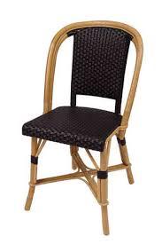 Woven Bistro Chairs Ardamez U2022 French Rattan Bistro Chair Drucker Made In France