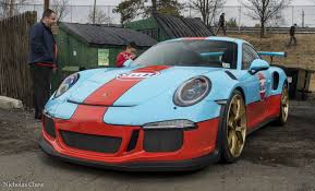 porsche 911 orange gulf livery porsche 911 gt3 rs pdk is part wrap part lava orange