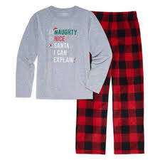 pole trading co checkin it flannel family pajama set