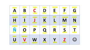 spanish alphabet dr odd