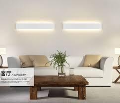 wall lights living room long aluminum led wall l black white living room bed room
