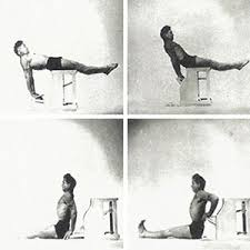 Pilates Chair Exercises Joseph Pilates Old Rare Vintage Reformer Chair Exercise Photograph