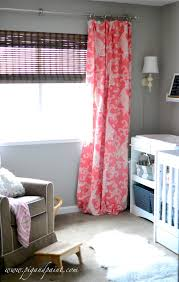 Pink Curtains For Nursery by Pig And Paint Pink Flamingo Themed Baby Nursery