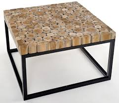 Wood And Metal Coffee Table Metal And Wood Furniture Design Drk Architects