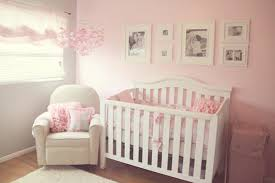 pretty pink white and gray nursery the little umbrella