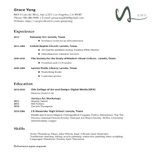 Resume Template Chronological Resume Types Examples Resume Cv Cover Letter