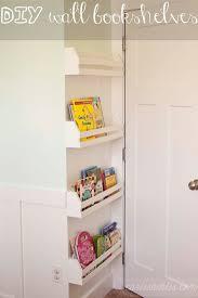 diy wall bookshelves wall bookshelves diy wall and kids rooms