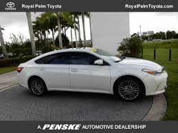 toyota avalon 2016 used toyota avalon 4dr sedan xle premium at royal palm toyota