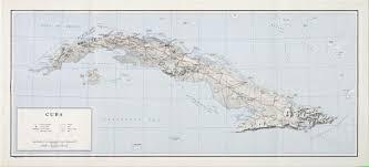 Cuban Map Cuban Missile Crisis Map John F Kennedy Presidential Library