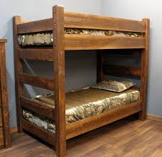 Bunk Bed Wooden Barnwood Bunk Bed