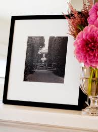 beautiful black and white frame designs hgtv