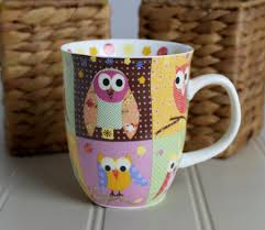 owl mugs design great home decor how to craft yourself owl mugs