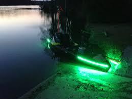 Kayak Night Lights Led Lights Kayak Fishing Pinterest