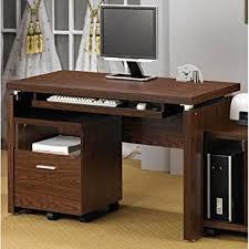 Office Desk Keyboard Tray Coaster Peel Computer Desk With Keyboard Tray In