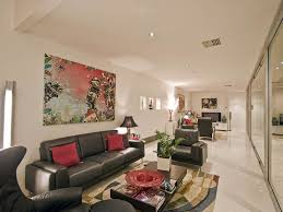 How To Decorate A Table How To Decorate A Long Wall In Living Room
