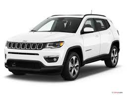 jeep compass white 2017 jeep compass pictures angular front u s report