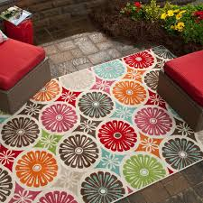 amusing 5x8 outdoor rugs charming ideas santiago paisley