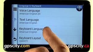 garmin nuvi 2555lmt manual language and keyboard settings in the garmin nuvi 2555 and nuvi