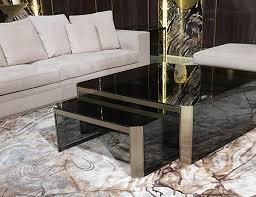 High End Coffee Tables Nella Vetrina Visionnaire Ipe Cavalli Barrett Smoked Glass Luxury
