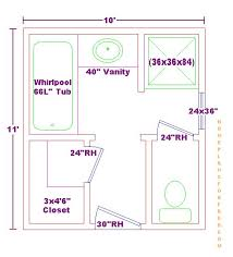 bathroom plan ideas master bath 10x11 free floor plan ideas design
