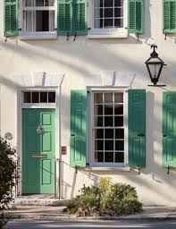 green shuttered house in charleston sc love the color color