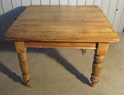 Victorian Rustic Pine Kitchen Table Antiques Atlas - Victorian pine kitchen table