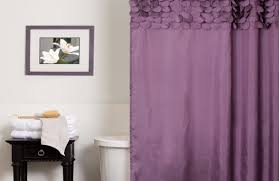 White Lace Shower Curtain by Curtains Stunning Purple Ruffle Curtains Would Be Even Better In