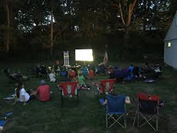 Backyard Movie Night Projector Outdoor Movie Night August U2013 Cub Scouts Pack 7 Slatersville