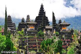 decoration of temple in home besakih temple in bali pura besakih bali attractions