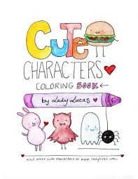 cute activity books for colouring and drawing super cute kawaii