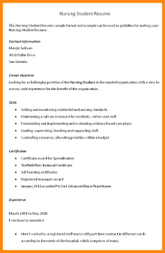 nursing student resume with no experience objective on resume for nurse manager nursing assistant with no