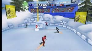 winter blast wii hockey gameplay youtube