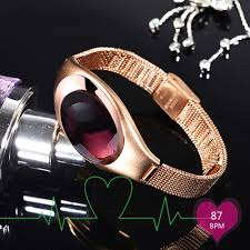 heart healthy bracelet images Luxury heart rate tracker watch women healthy smart watches z18 jpg