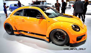 orange volkswagen beetle 2015 volkswagen beetle rear drive widebody by tanner foust racing