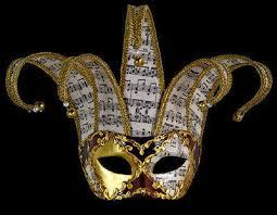 venetian jester mask musica venetian masquerade mask