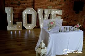 wedding backdrop letters wedding fayre sunday 20th march 2016 premier beats entertainment